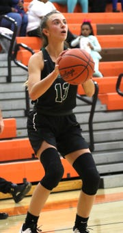 Madison's Leah Boggs attempts a shot while playing at Mansfield Senior earlier in the season.