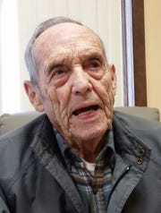 Don Wilson served in the United States Navy during WWII.