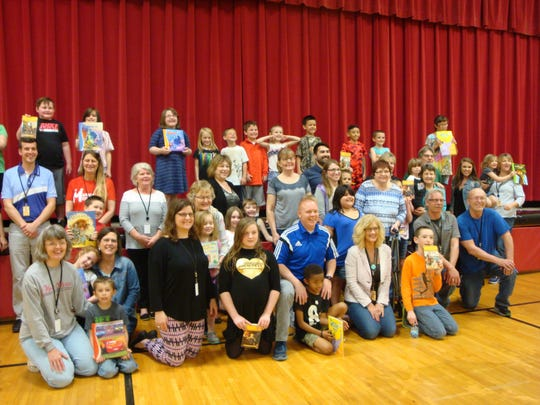 Marion Mentors 21 ends each year with a Mentoring Celebration. One such celebration was a luncheon, held last May at George Washington Elementary, for mentors and students before summer break began.