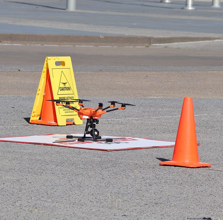 Drone program excites Memphis airport, but government shutdown slowing it down