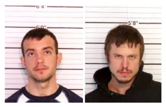 Trevor Burnett, left, and Eric Bates