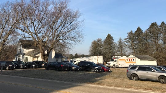 Franklin Police and other law enforcement agencies have established a crime scene near Woodview Court and Highway J in East Troy, just north of Lake Beulah. There were at least 18 unmarked cars parked on the property, along with mobile command units from Franklin Police Department and Walworth County Sheriff's Department on Friday, Jan. 11 .