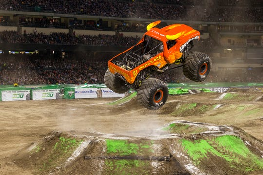 The big rigs are back, and some of them airborne, at the Monster Jam bash at Fiserv Forum this weekend.