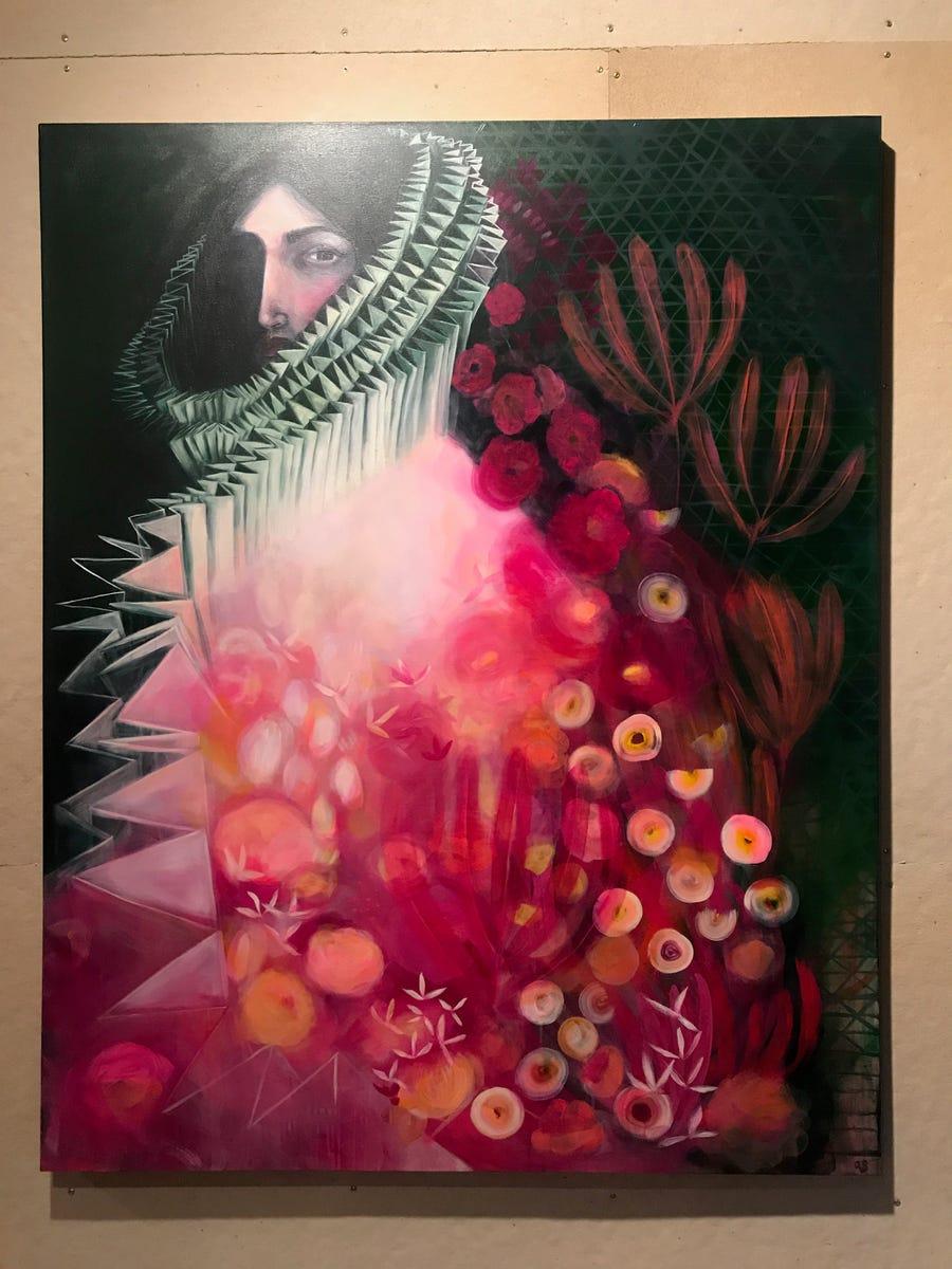 A portrait painting by Amy Soczka