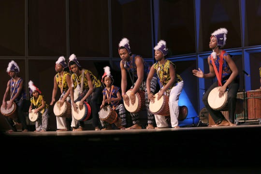 One Nation for Youth Arts & Healing, African Dance/Drum Ensemble is one of the local groups performing at Milwaukee's 35th annual Dr. Martin Luther King Jr. Celebration at the Marcus Center Sunday.
