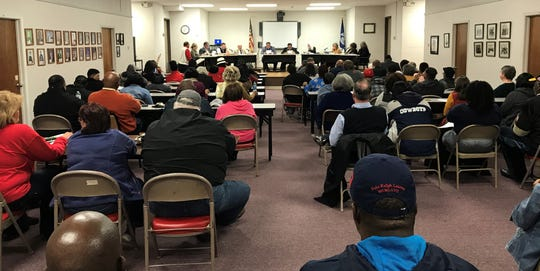 The Morehouse Parish School Board met Thursday night for the first meeting of 2019.