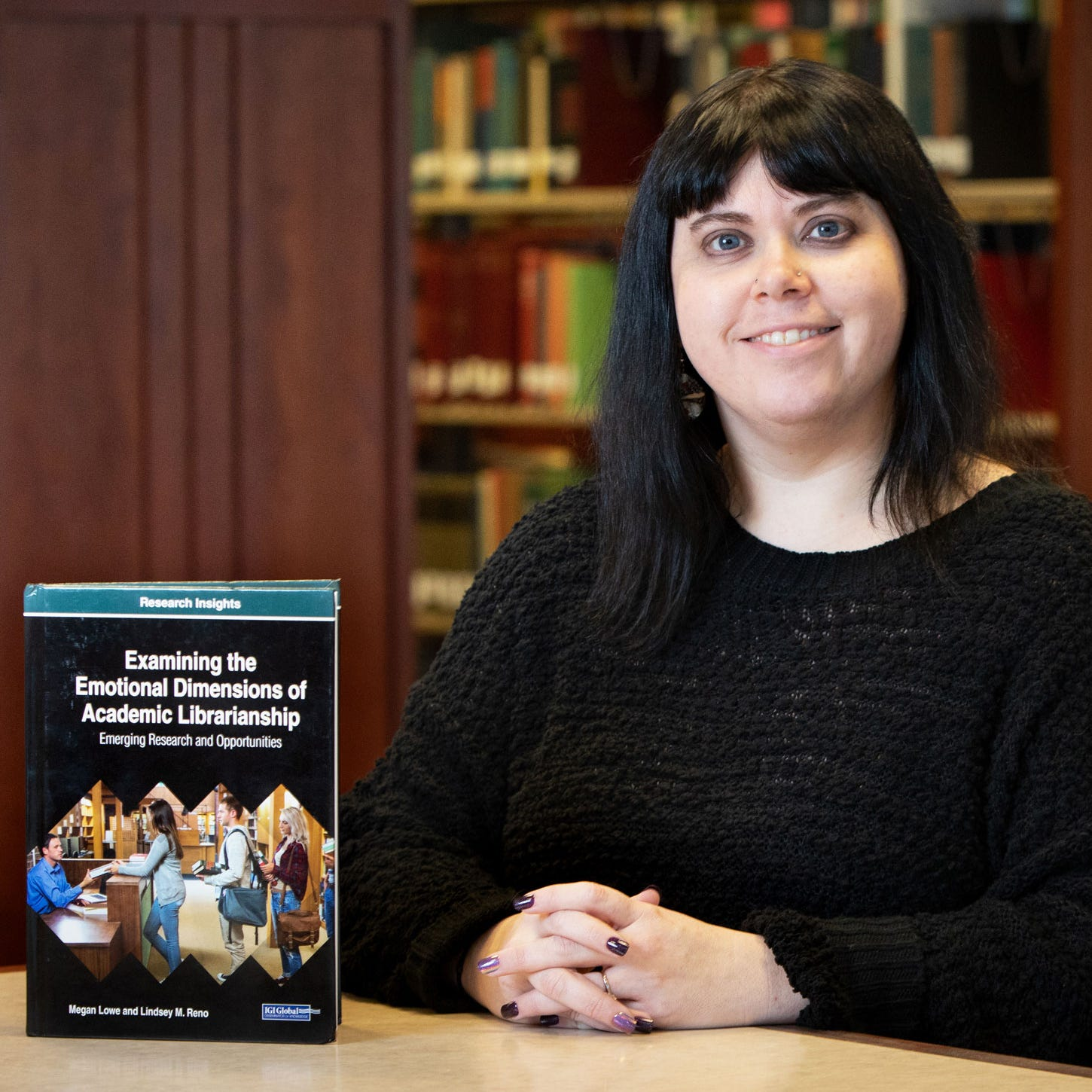 ULM library director writes book on challenges of modern librarians