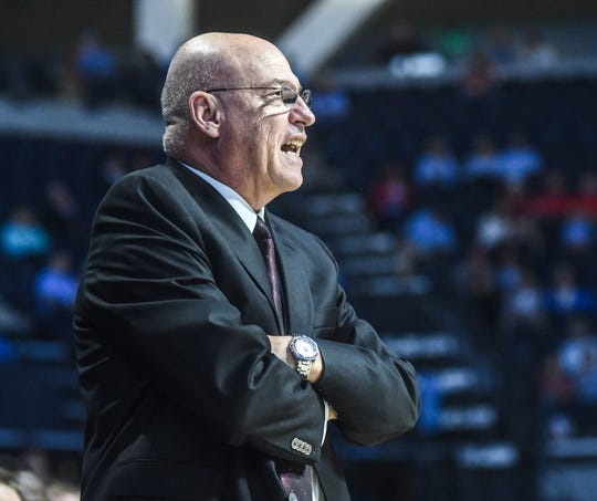 Earlier this season, ULM men's basketball coach Keith Richard reached two coaching milestones by recording both his 100th win at ULM and his 250th career win with an 80-63 victory over Coppin State on Dec. 21. He ranks seventh among the Sun Belt's all-time leaders with 93 career conference victories.