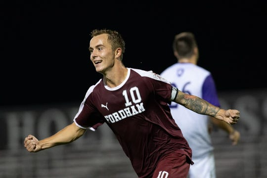 Fordham striker Janos Loebe, a German national, has been picked by the Red Bulls at No. 22