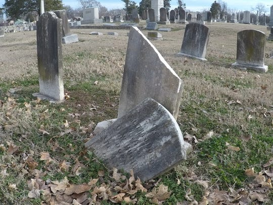 The City of Gallatin is raising money to repair its historic city cemetery, which has several deteriorating or damaged headstones.