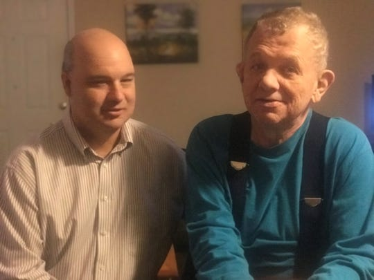 Chris Luallen has worked as a direct support professional for Progress Inc. for more than 20 years, caring for 64-year-old Jimmy in Ashland City.