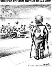 Tom Little of The Tennessean won a Pulitzer Prize in 1957 for this cartoon.