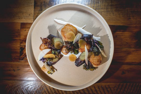 Try the day-boat scallops with sweet potatoes, apples and kale sprouts at Felina.