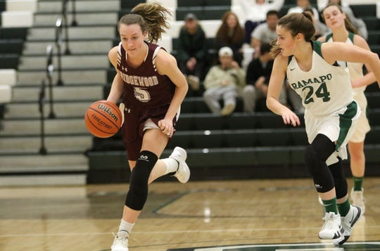 Ridgewood's Annie McCarthy (5) and Ramapo's Madison Schiller (24) are NorthJersey.com All-Group selections for Groups 4 and 3, respectively.