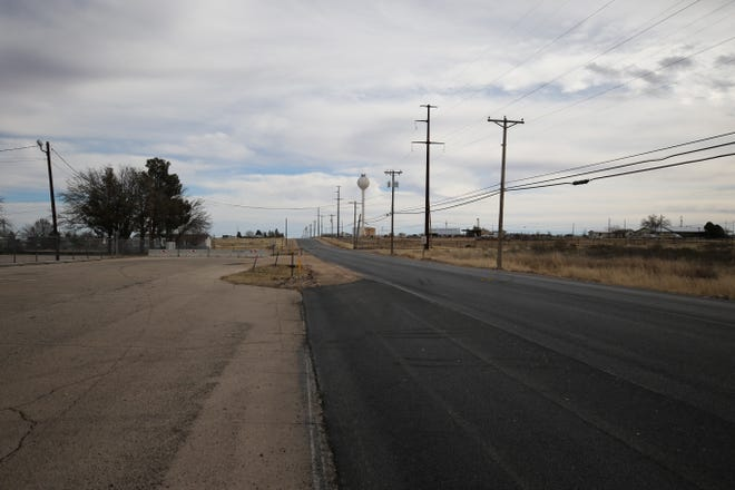 Fresh pavement on Derrick Road greeted drivers last winter south of Carlsbad. Eddy County has seen numerous road construction projects for sometime.