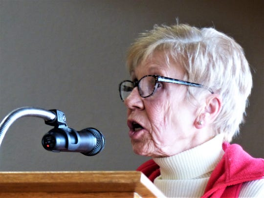 Brigitte Bartell asked for Ruidoso Village Council help in discouraging feeding of wildlife.