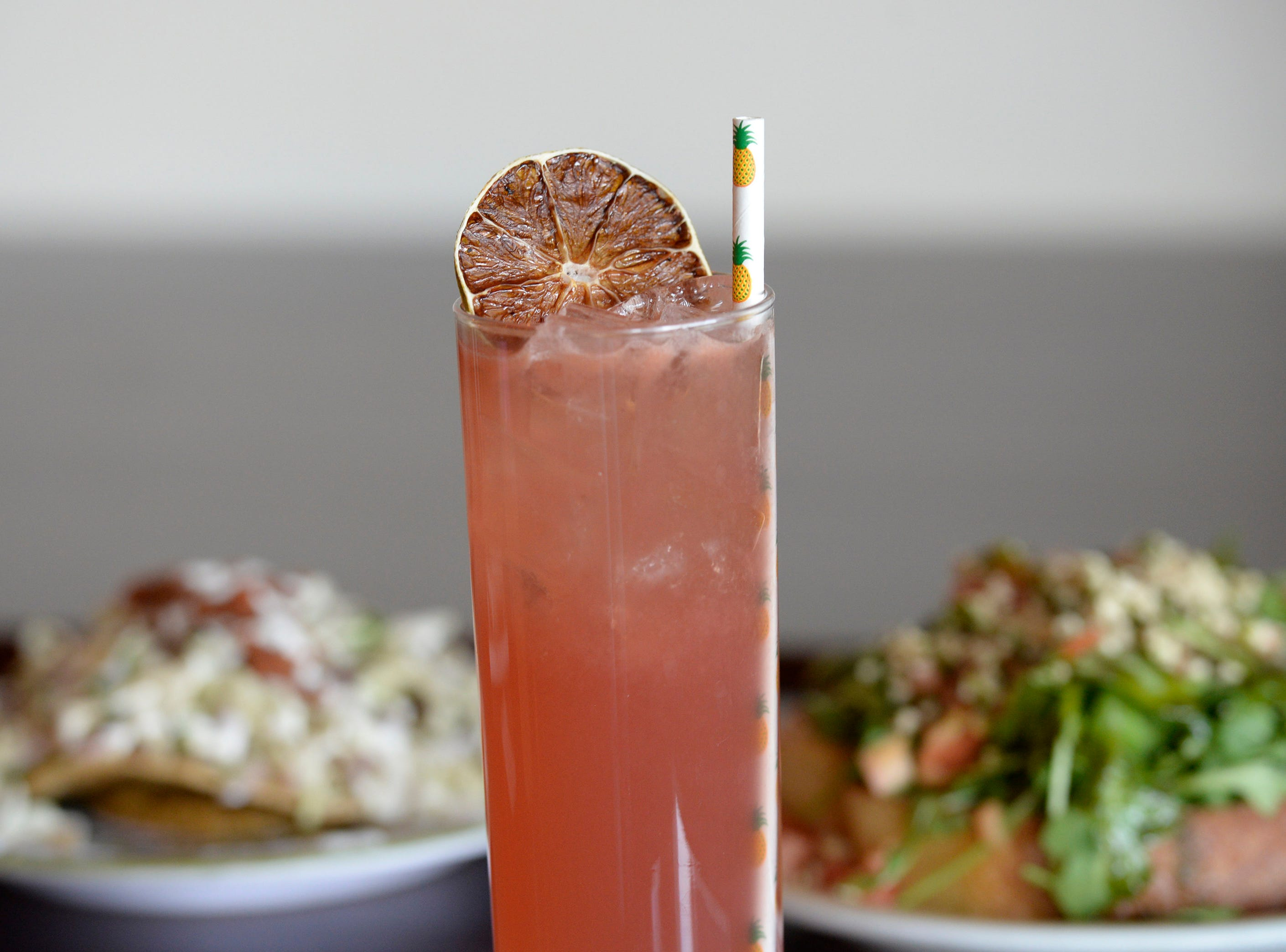 House crafted Passionate Punch at Chive Kitchen is made with Hangar 1 vodka.