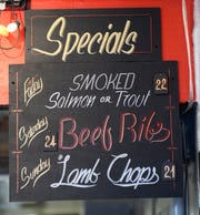 Weekend specials Max and Bella's Smokehouse.