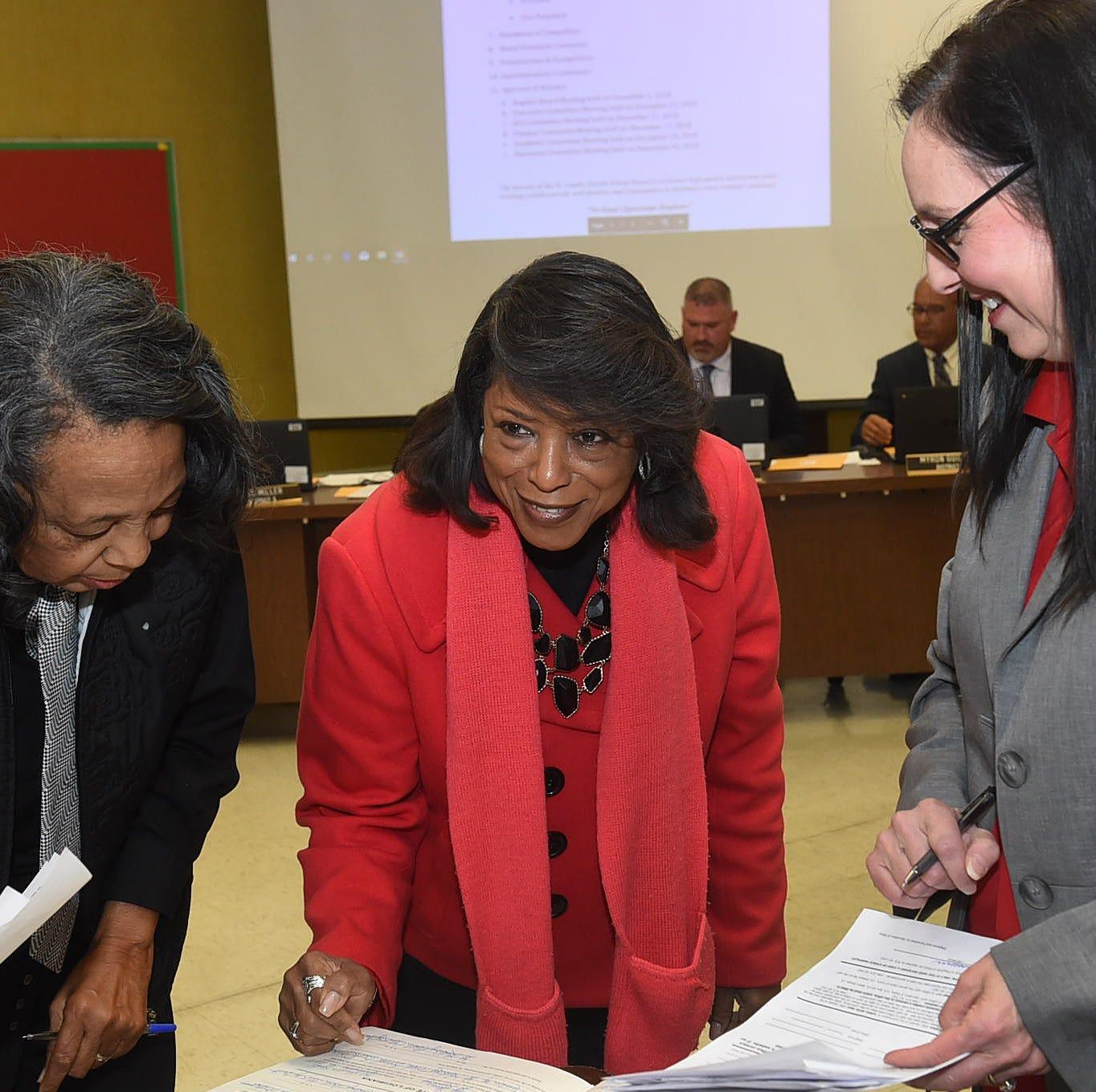 New school board president talks strategy for improvement