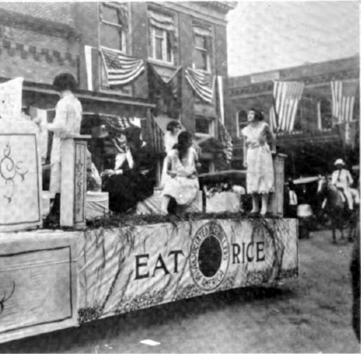 Parlons Opelousas: The 1922 Cotton Carnival