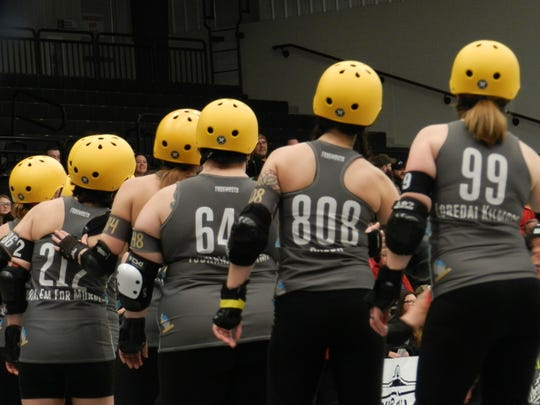 The Fox Cities Roller Derby consists of two teams, the All Stars and the 920 Honeys.