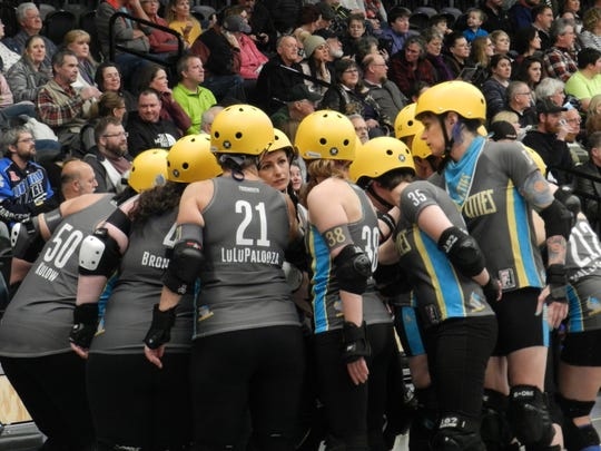 Roller derby skaters say the best part about the sport is the family they have created with each other.