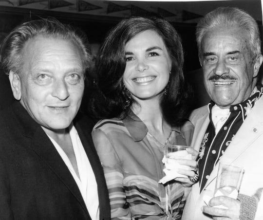 Frederick Loewe and Mr. and Mrs. Raymond Loewy.
