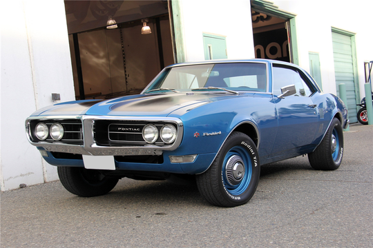 This 1968 Pontiac Firebird Coupe will be sold at Barrett-Jackson in Scottsdale on Monday.