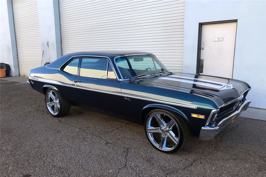 This 1971 Chevrolet Nova Yenko will be auctioned at Barrett-Jackson in Scottsdale on Monday.