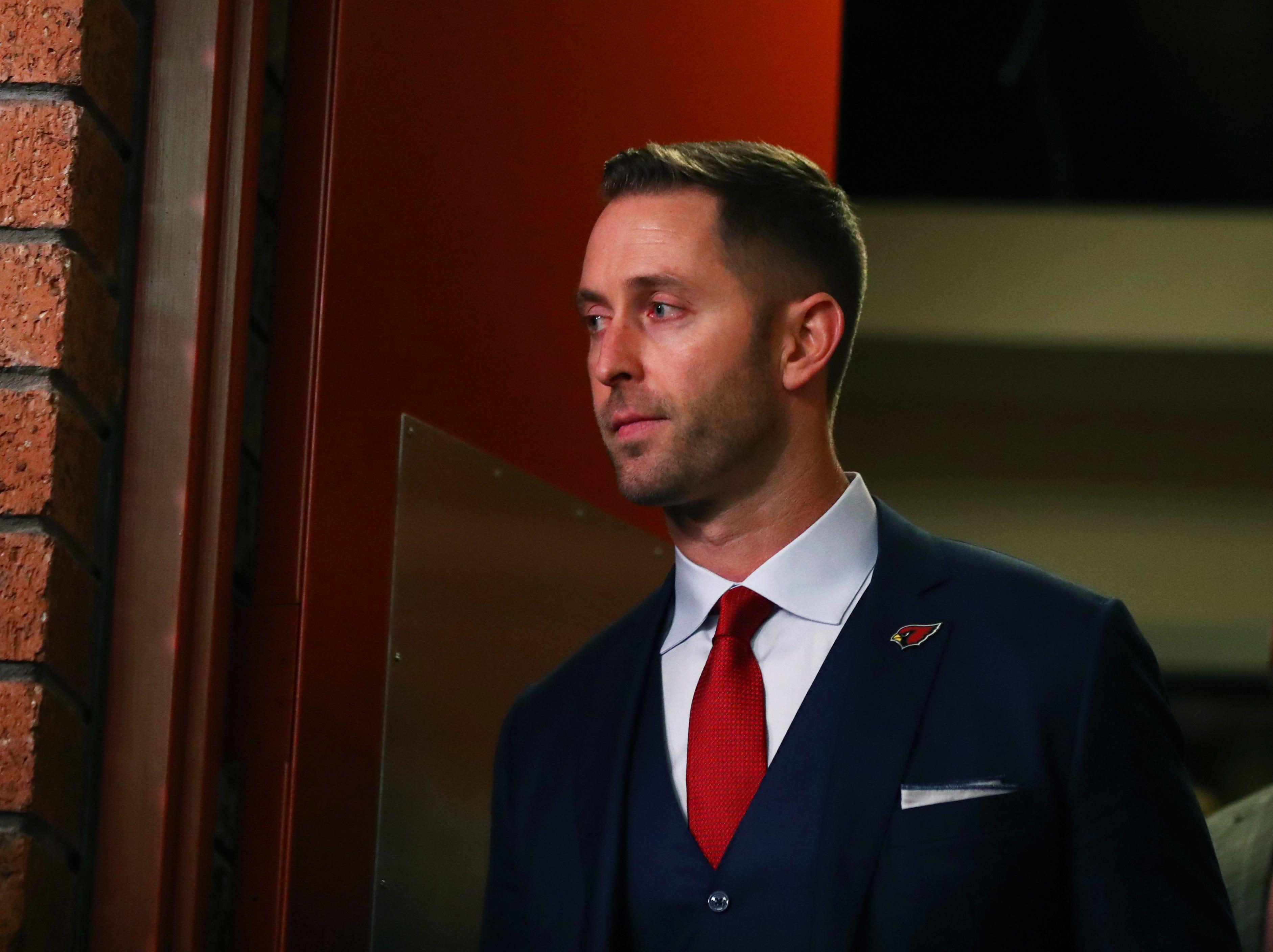 Arizona Cardinals' Kliff Kingsbury addresses comments about drafting Kyler Murray