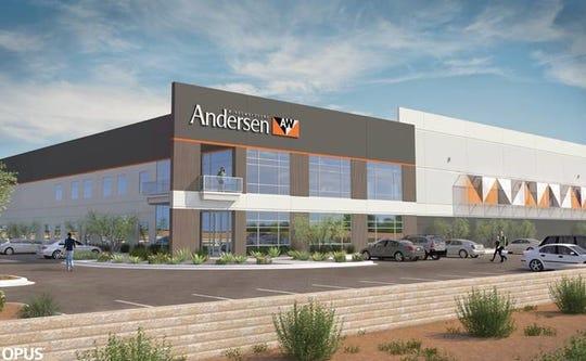 Officials broke ground on Andersen Corporation's Goodyear facility on Jan. 11.