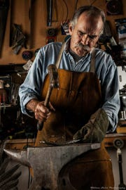 Metal sculptor Austin Casson will be the featured artist at the Carefree Fine Art and Wine Festival.