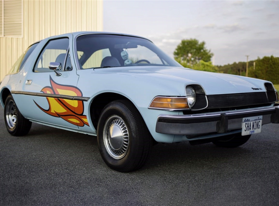 This recreation of Wayne and Garth's iconic Pacer will be auctioned off on Monday at Barrett-Jackson.
