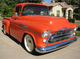 This 1957 Chevrolet 3100 Custom Pickup will be auctioned off at Barrett-Jackson in Scottsdale on Monday.