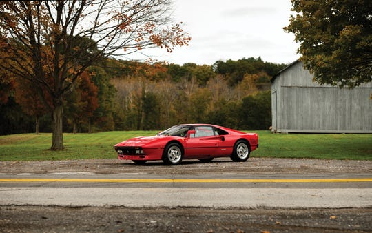 RM Sotheby's Arizona auction will have different makes and models of cars, including a 1985 Ferrari 288 GTO.