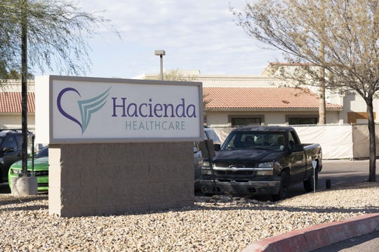 Hacienda Healthcare on 1402 E. South Mountain Drive in Phoenix.