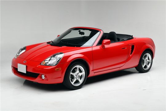 This 2003 Toyota MR2 Spyder will be sold at Barrett-Jackson in Scottsdale on Monday.