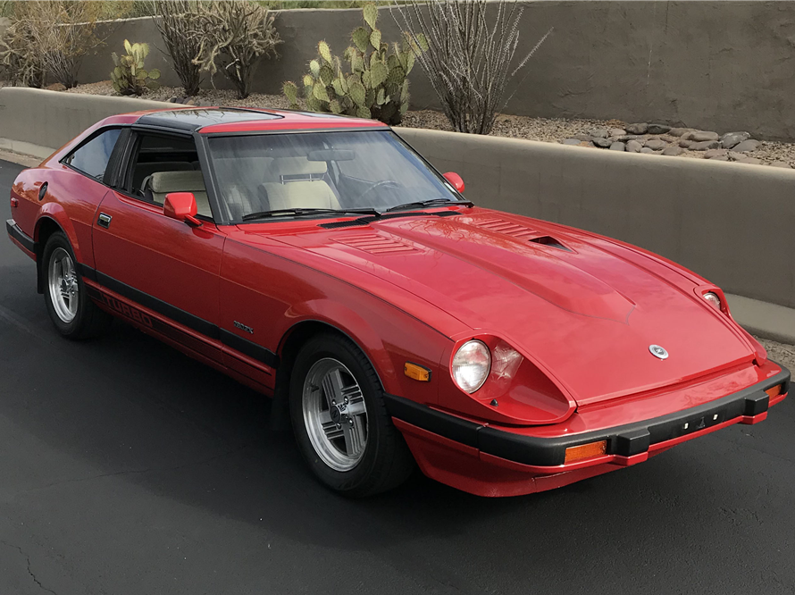 This 1983 Datsun 280ZX Turbo will be sold at Barrett-Jackson in Scottsdale on Monday.