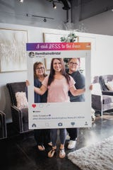 Erica Gonzales was the first recipient of Say Less to the Dress, a project started by Remi Raine Bridal in Tempe. They are giving away a free dress to one deserving bride each month.