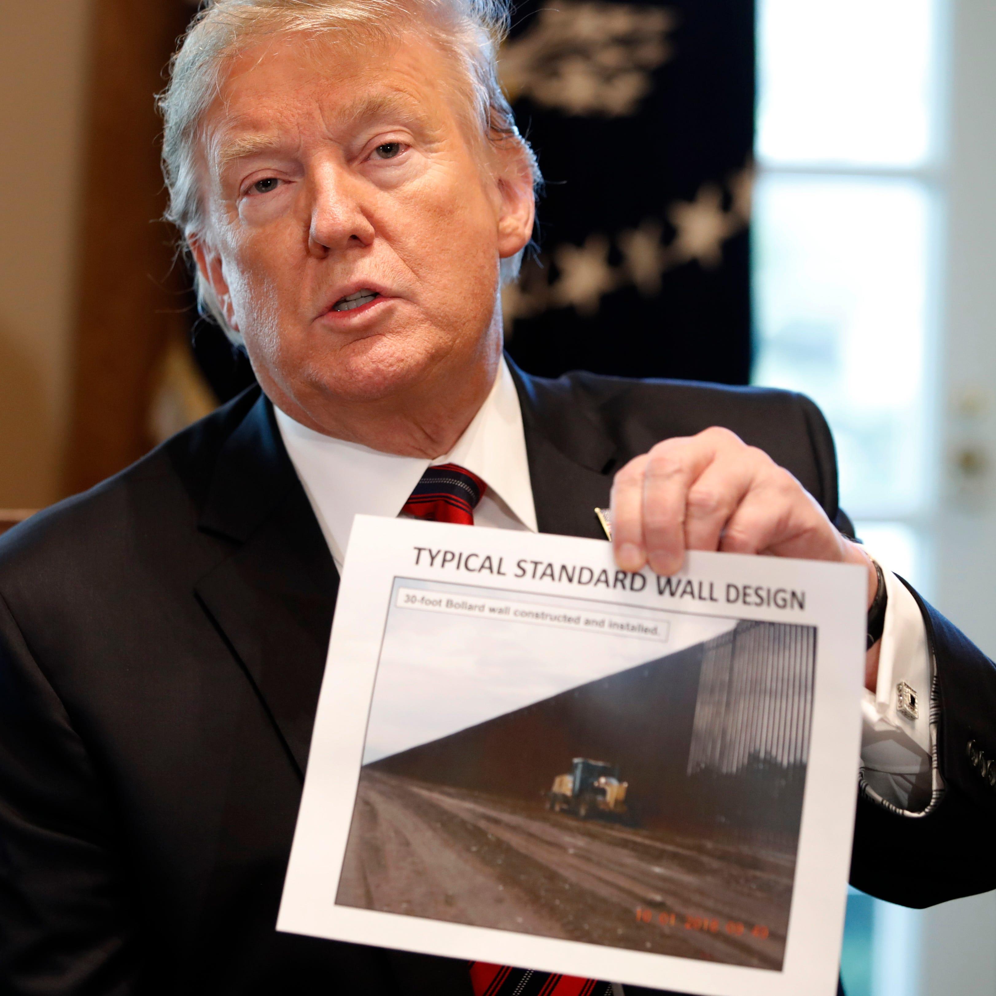 """Trump apunta que no tiene previsto declarar emergencia nacional """"ahora mismo"""""""