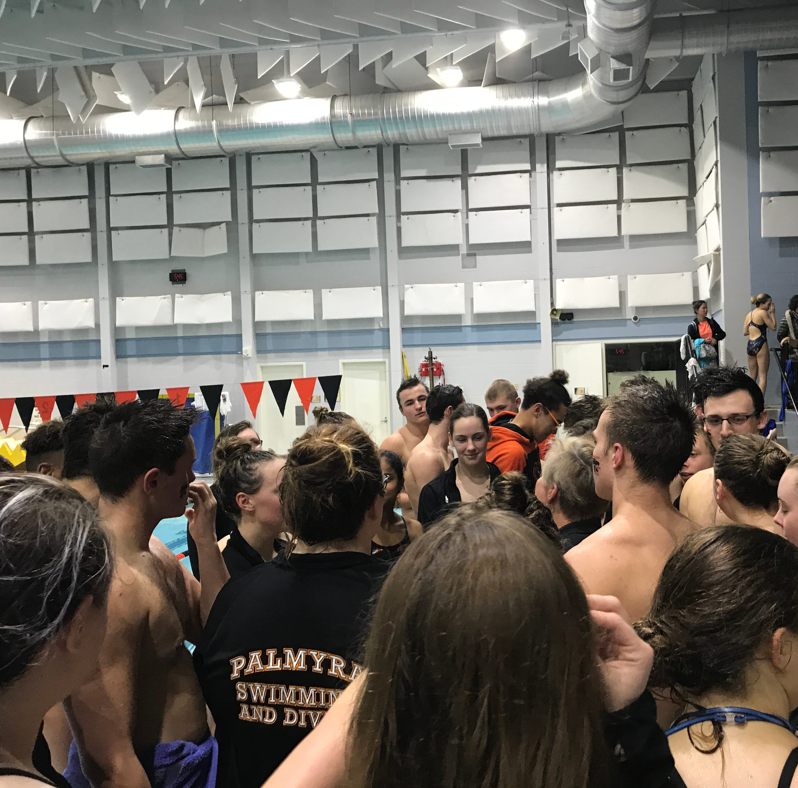 Palmyra boys and girls swim past Lower Dauphin, move closer to division titles