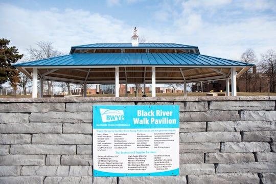 Blue Water Young Professionals and the city plan to utilize DNR grant dollars for another phase of improvements along the Black River Scenic Walk, including adding an ADA accessible kayak launch, a picnic area and signage.