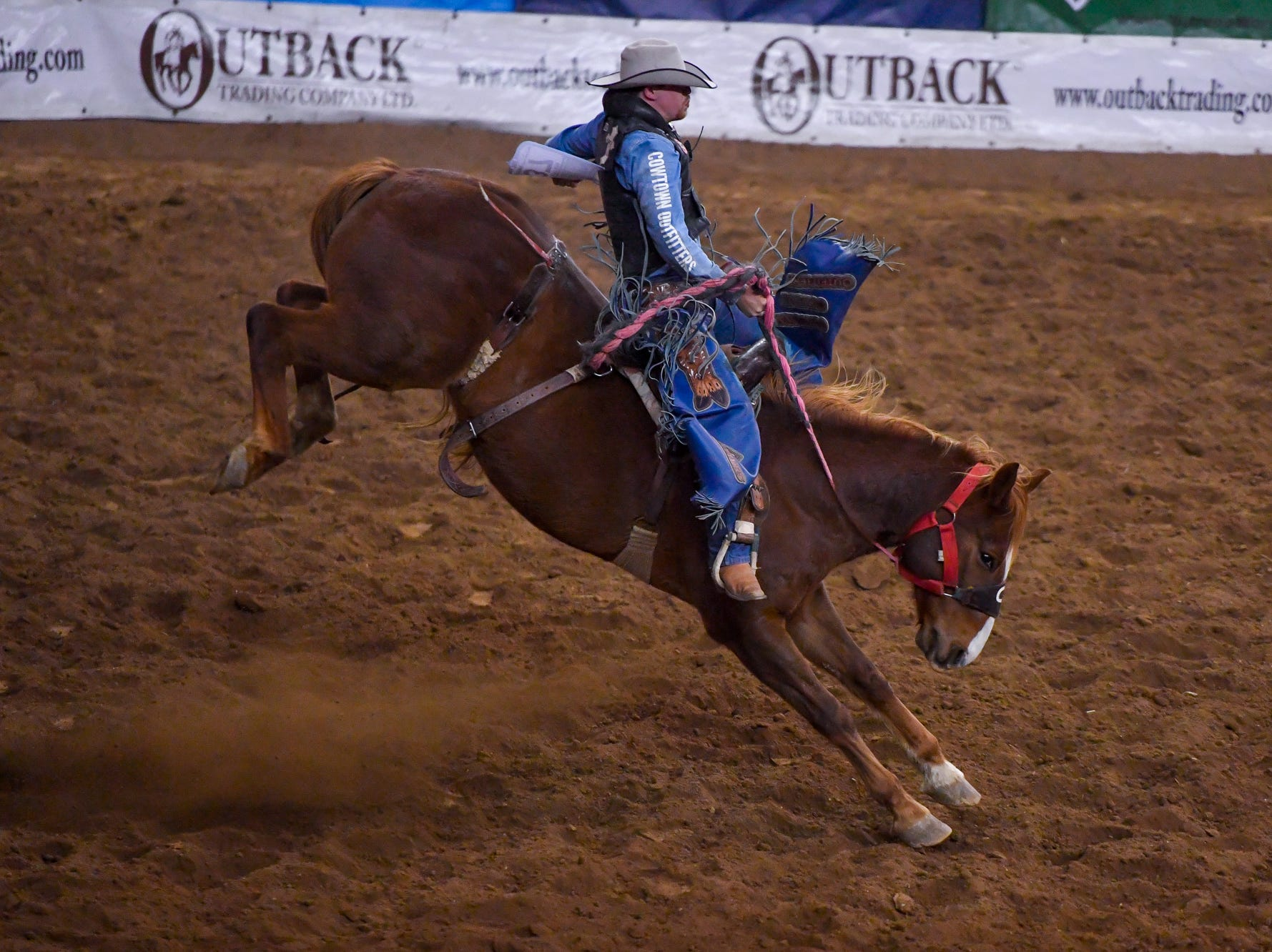 First night of the PRCA First Frontier Circuit Finals Rodeo at the 103rd PA Farm Show, Thursday, January 10, 2019.