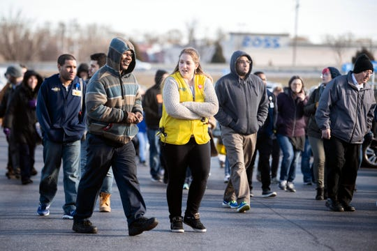 Employees and customers left the West Manchester Township Walmart for a short period of time, Friday, Jan. 11, 2019. Police made no arrests and no charges were filed.