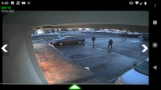 The Nevada Highway Patrol released three surveillance photos of the suspects believed to be involved in a hit and run crash. The crash involved a red GMC Envoy SUV.