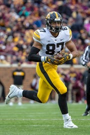 Iowa Hawkeyes tight end Noah Fant could be a first-round pick in the 2019 NFL Draft.