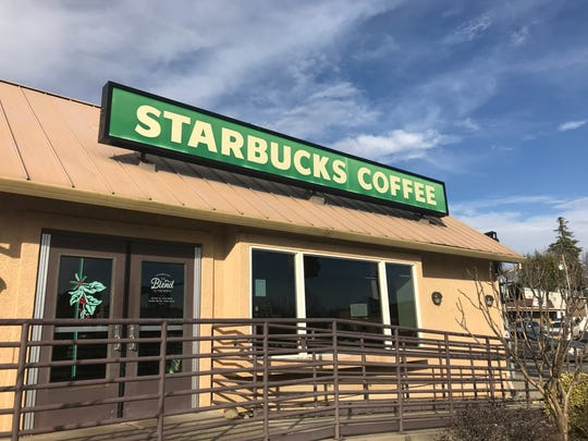 The Starbucks at Eureka Way and Market Street in downtown Redding will close at noon on Jan. 27.
