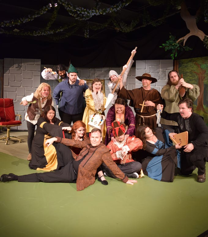 """""""The Somewhat True Tale of Robin Hood,"""" a Monty Python-esque retelling of the Sherwood Forest classic, opens Friday at Riverfront Playhouse."""