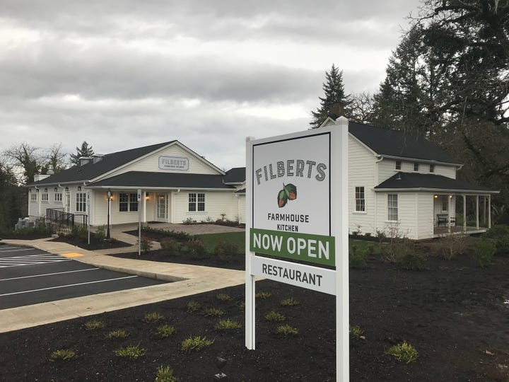 New restaurant Filberts Farmhouse Kitchen brings flea market charm and upscale rustic dining to Aurora.