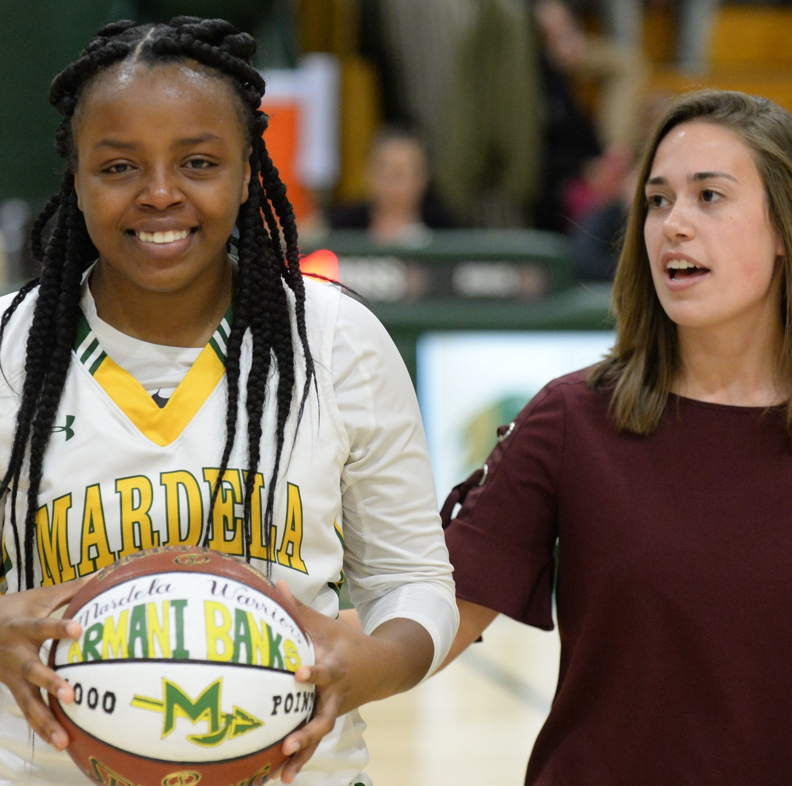 Mardela basketball player goes from cheerleader to 1,000-point scorer